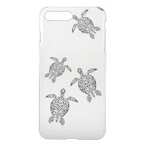 Turtles Tribal Tatoo Animal iPhone 7 Plus Case