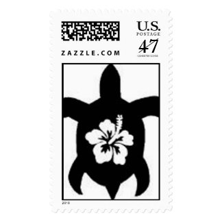turtleshell, ALOHA FROM HAWAII Postage