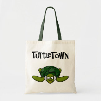 TurtleTown Baggg. Not too many G's, now. Canvas Bags