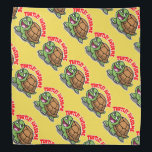"""Turtley Awesome Bandana<br><div class=""""desc"""">Totally awesome turtle.</div>"""