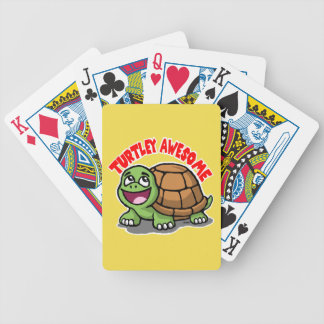 Turtley Awesome Bicycle Playing Cards