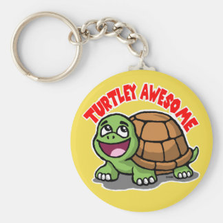 Turtley Awesome Keychain