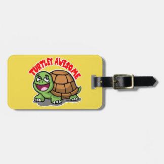 Turtley Awesome Luggage Tag