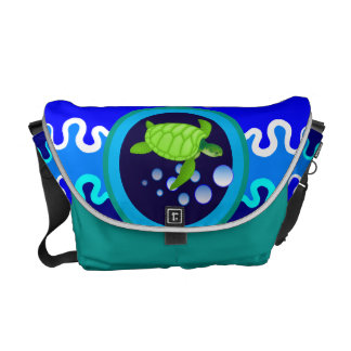 Turtley Awesome Messenger Bags