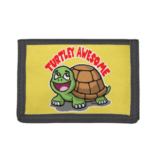Turtley Awesome Trifold Wallet