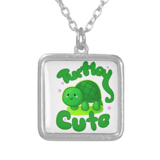 Turtley Cute Silver Plated Necklace