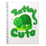 Turtley lindo libros de apuntes