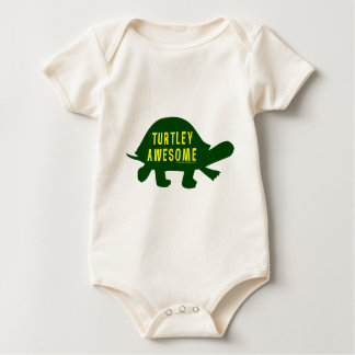 Turtley Totally Awesome Baby Bodysuit