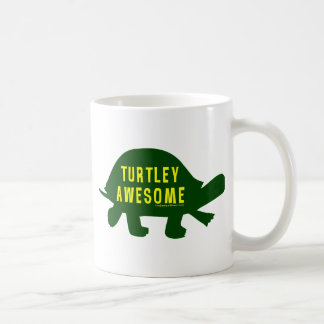 Turtley Totally Awesome Classic White Coffee Mug