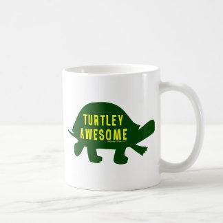Turtley Totally Awesome Classic White Coffee Mug