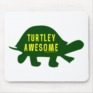 Turtley Totally Awesome Mouse Pad