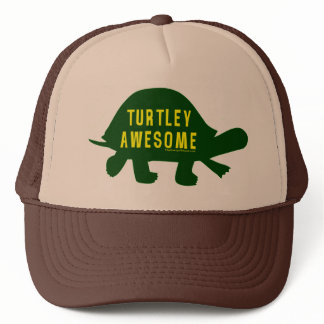 Turtley Totally Awesome Trucker Hat