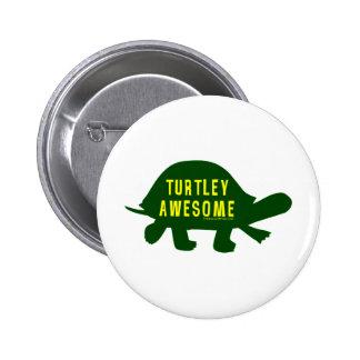 Turtley totalmente impresionante pins