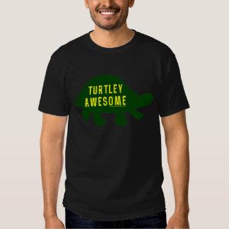 Turtley totalmente impresionante remeras