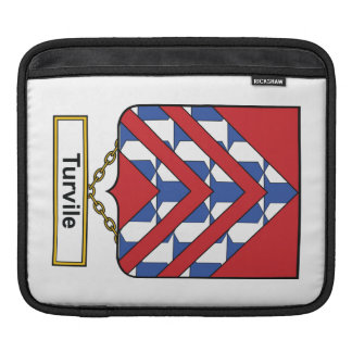 Turvile Family Crest iPad Sleeve
