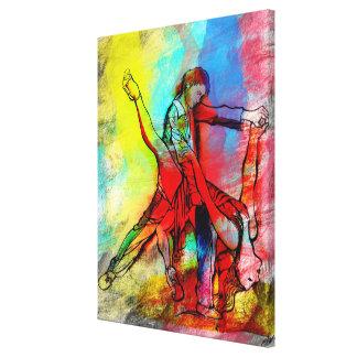 Tus Labios de Rubi - su tango de rubíes de los Impresión En Lienzo