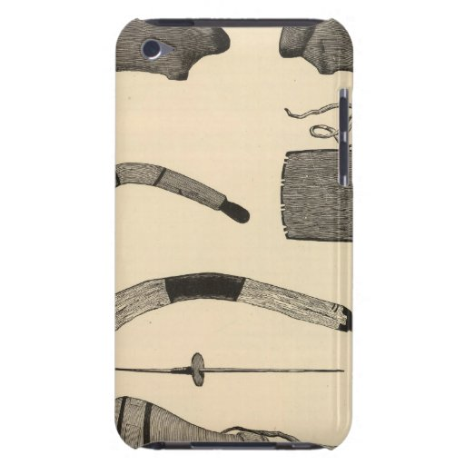 Tusayan fetiches, implements iPod touch case
