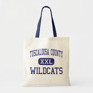 Tuscaloosa County - Wildcats - High - Northport Canvas Bags