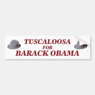 Tuscaloosa for Barack Obama bumper sticker