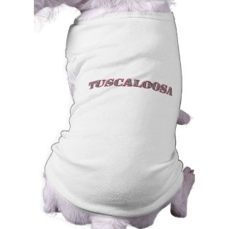 Tuscaloosa Playera Sin Mangas Para Perro