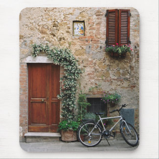 Tuscan Bicycle, Pienza Photography Mousepad