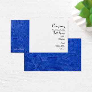 Tuscan Blue Business Cards 2.0