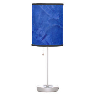 Tuscan Blue Faux Finish Table Lamp