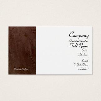 Tuscan Burgundy Business Cards
