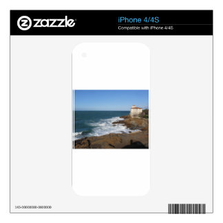 Tuscan coast in winter with Boccale castle Decal For The iPhone 4S