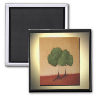 Tuscan Companions 2 Inch Square Magnet