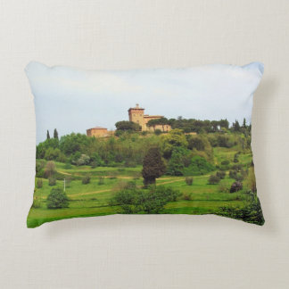Tuscan Countryside Decorative Pillow
