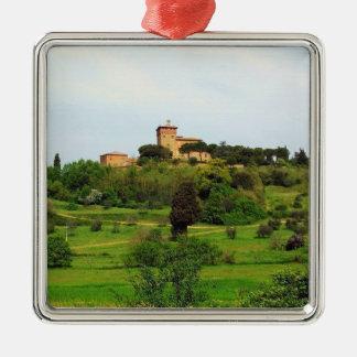 Tuscan Countryside Christmas Tree Ornaments