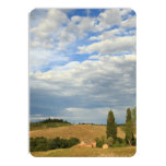 Tuscan countryside Tuscany, Central Italy 4.5x6.25 Paper Invitation Card