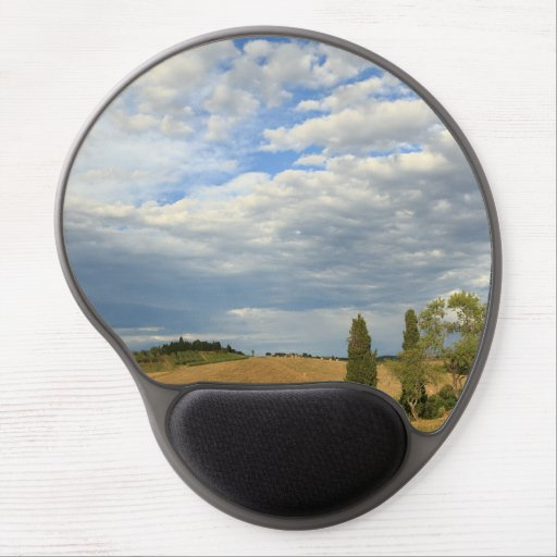 Tuscan countryside Tuscany, Central Italy Gel Mouse Pad