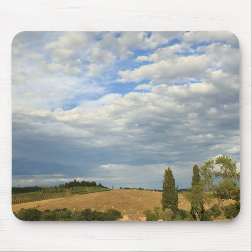 Tuscan countryside Tuscany, Central Italy Mouse Pads
