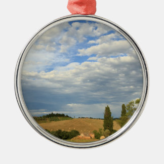 Tuscan countryside Tuscany, Central Italy Christmas Tree Ornament
