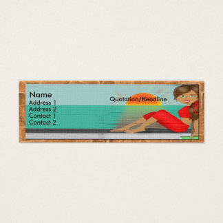 Tuscan Diva Profile Card.. Mini Business Card
