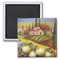 Tuscan Farm Magnet