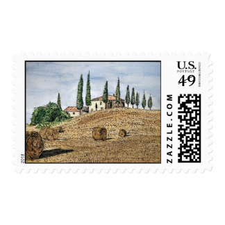 Tuscan Field Stamp