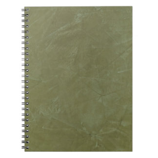 Tuscan Green Faux Finish Notebook