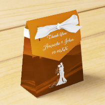 Tuscan Italy Wedding Favor Thank You Favor Box