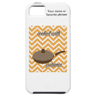 tuscan kitchen - pan on chevron iPhone 5 covers