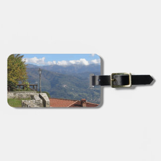 Tuscan landscape near Lucca Tuscany Italy Luggage Tag