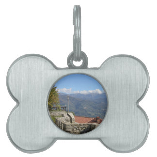 Tuscan landscape near Lucca Tuscany Italy Pet ID Tag