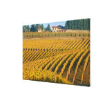Tuscan-looking Black Walnut Inn above the Stretched Canvas Prints