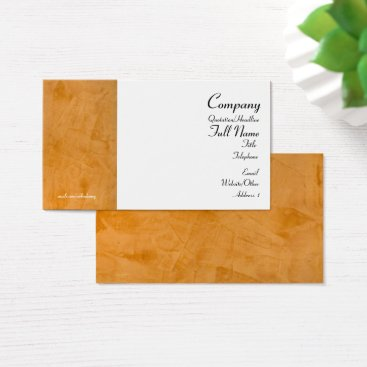 Lawyer Themed Tuscan Orange Business Cards 2.0
