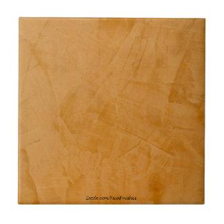 Tuscan Orange Venetian Plaster Ceramic Tile