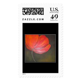 Tuscan Poppy Stamps