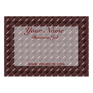 Tuscan Red Business Card Templates