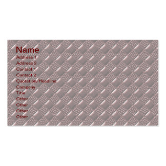 Tuscan Red Business Cards